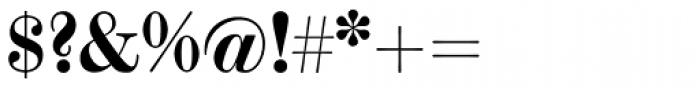 Scotch Modern Bold Font OTHER CHARS