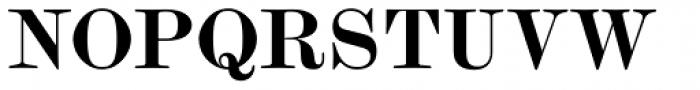 Scotch Modern Bold Font UPPERCASE
