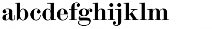 Scotch Modern Bold Font LOWERCASE