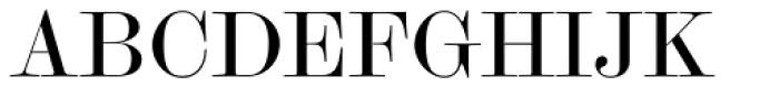 Scotch Modern Display Font UPPERCASE