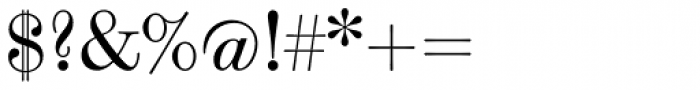 Scotch Modern Font OTHER CHARS