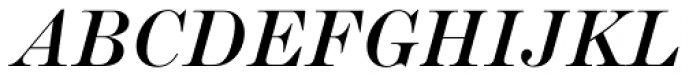 Scotch Roman MT Std Italic Font UPPERCASE