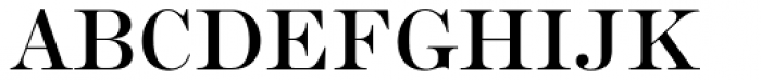 Scotch Roman Std Roman Font UPPERCASE
