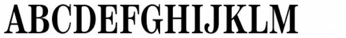Scotch Text Compressed Medium Font UPPERCASE