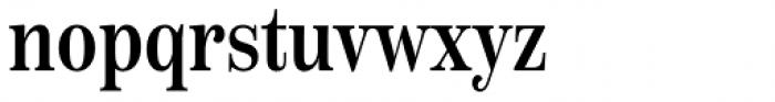 Scotch Text Compressed Medium Font LOWERCASE