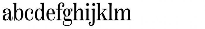 Scotch Text Compressed Roman Font LOWERCASE