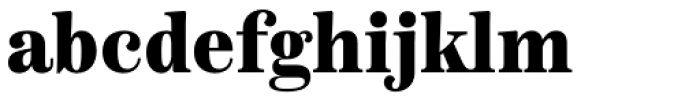 Scotch Text Condensed Black Font LOWERCASE