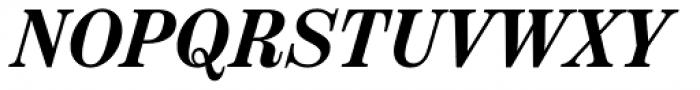 Scotch Text Condensed Semi Bold Italic Font UPPERCASE