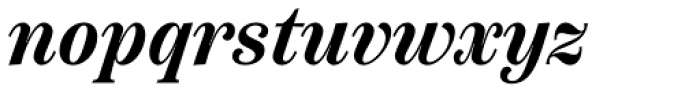 Scotch Text Condensed Semi Bold Italic Font LOWERCASE
