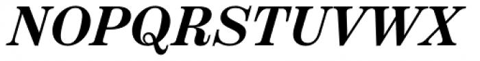 Scotch Text Semi Bold Italic Font UPPERCASE