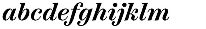 Scotch Text Semi Bold Italic Font LOWERCASE