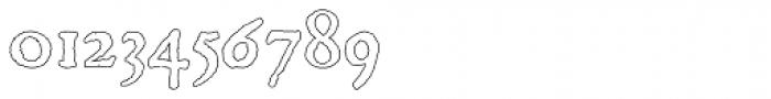 Scoto Koberger Fraktur N9 Outline Font OTHER CHARS