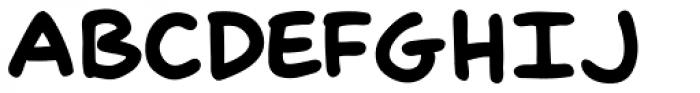 Scott Mc Cloud ExtraBold Font UPPERCASE
