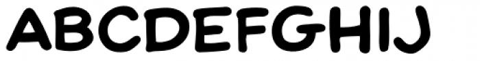 Scott Mc Cloud ExtraBold Font LOWERCASE