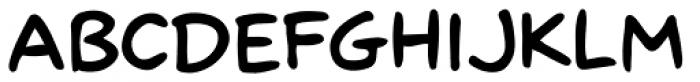 Scott Mc Cloud SemiBold Font LOWERCASE