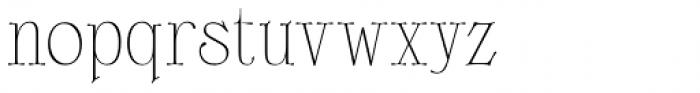 Scottsdale Desert Regular Font LOWERCASE