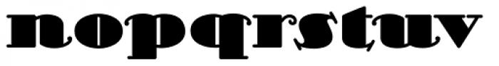Scram Gravy Std Font LOWERCASE