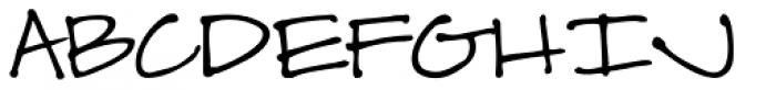 Scrap Casual Font UPPERCASE