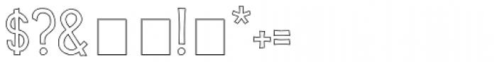 Scrapbook Basic Font OTHER CHARS