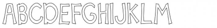 Scrapbook Basic Font UPPERCASE