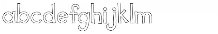 Scrapbook Basic Font LOWERCASE