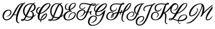 Scrapbooker Script Font UPPERCASE