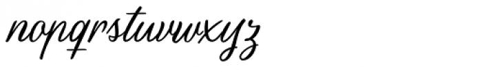 Scrapbooker Script Font LOWERCASE
