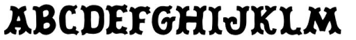 Scrapbooker Tuscan Font UPPERCASE