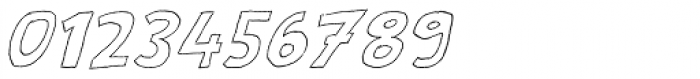 Scratch That (Outlined) Italic Font OTHER CHARS