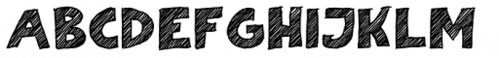 Scratch That (Striped 2) Bold Font UPPERCASE