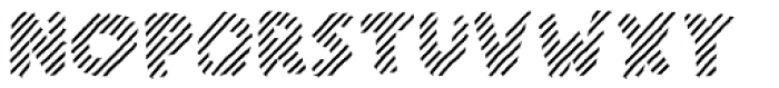 Scratch That (Striped 3) Bold Font UPPERCASE