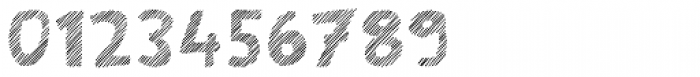 Scratch That (Striped 4) Font OTHER CHARS