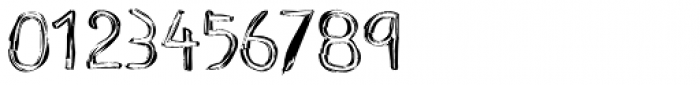 Scratch With The Coin Type A Font OTHER CHARS