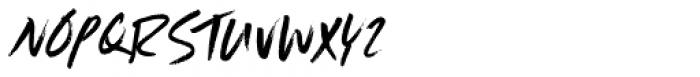 Scrawlerz Italic Font UPPERCASE