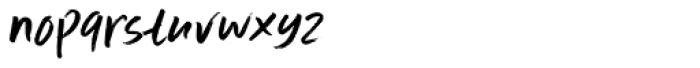 Scrawlerz Italic Font LOWERCASE