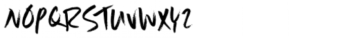 Scrawlerz Font UPPERCASE