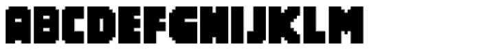 Screen Logger Hot Font UPPERCASE