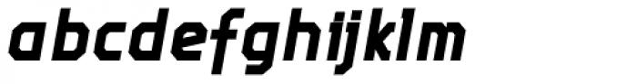 Screener Condensed Bold Italic Font LOWERCASE