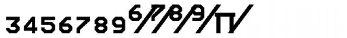 Screener Numerals Font LOWERCASE