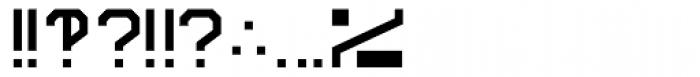 Screener Symbols Font OTHER CHARS
