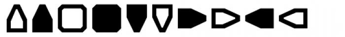 Screener Symbols Font UPPERCASE