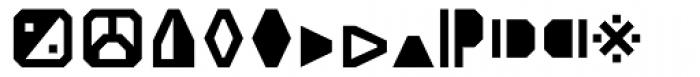 Screener Symbols Font LOWERCASE