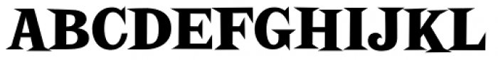Screwby Condensed Black Font UPPERCASE