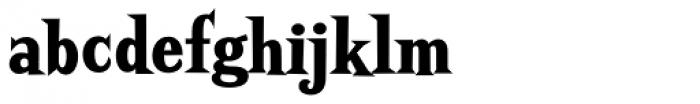 Screwby Condensed Black Font LOWERCASE
