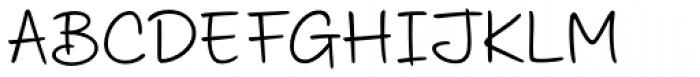 Scribbles AF Biro Font UPPERCASE