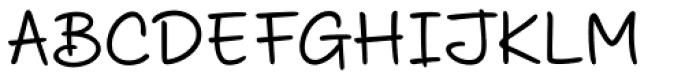 Scribbles AF Felt Tip Font UPPERCASE