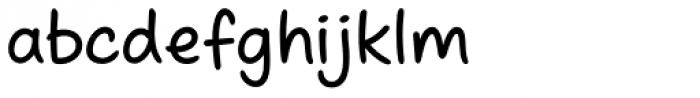 Scribbles AF Marker Font LOWERCASE