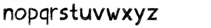 Scribblex Font LOWERCASE