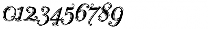 Scribe Classic Font OTHER CHARS