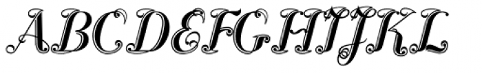 Scribe Classic Font UPPERCASE